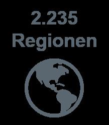 Diagramm Regionen